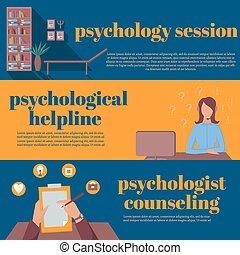 オフィス, helpline, 心理学者, オンラインで, 精神療法, カウンセリング