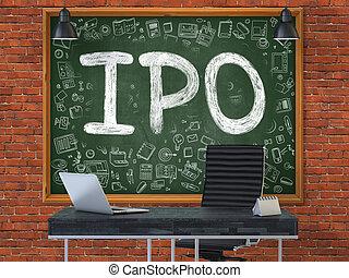 オフィス。, ipo, 黒板
