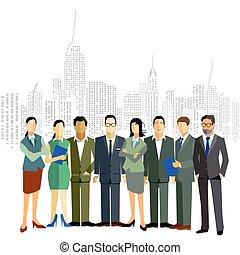 オフィス, personen, ビジネス
