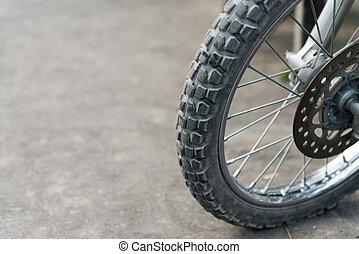オフロード, オートバイ, tires.