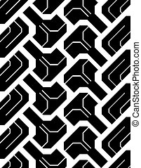 オフロード, seamless, 跡, tyre
