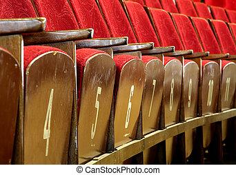 オペラ, 席