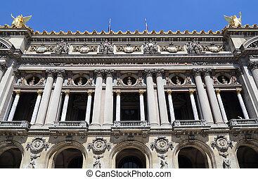 オペラ, 建物, 中に, パリ, フランス