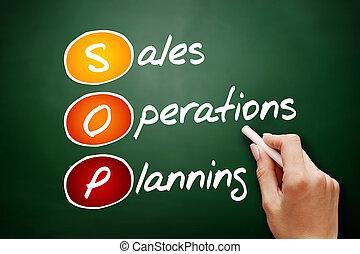 オペレーション, 頭字語, 計画, 販売