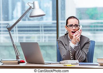オペレーター, 概念, 呼出し 中心, ビジネス