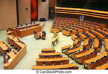 オランダ語, 議会