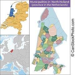 オランダ, 北, 州, netherlands