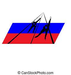 オリンピック大会, russia-2, 彼