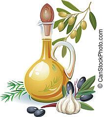 オリーブ油, びん