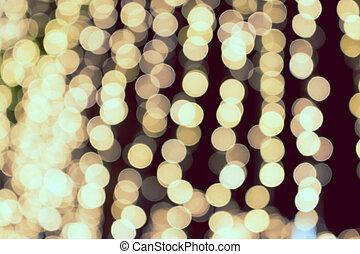 オレンジライト, 円, blurry