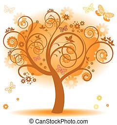 オレンジ休暇, 木