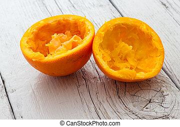オレンジ皮