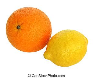 オレンジ, そして, レモン