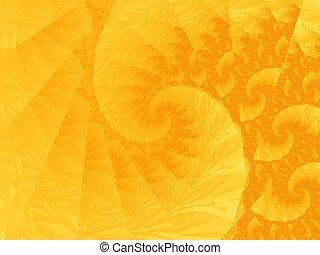 オレンジ, らせん状に動きなさい