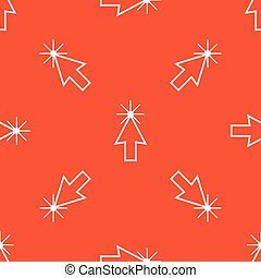 オレンジ, カーソル, 矢パターン