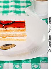 オレンジ, ケーキ