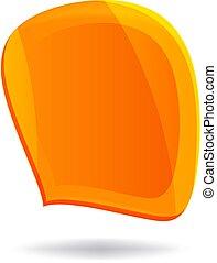 オレンジ, スピーチ泡