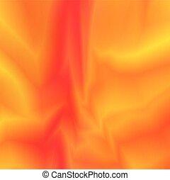 オレンジ, バックグラウンド。, 抽象的, ベクトル