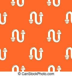 オレンジ, パターン, ベクトル, サイフォン