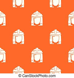 オレンジ, パターン, cleopatra, ベクトル