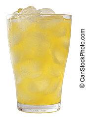 オレンジ, レモネード, 氷