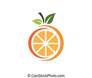 オレンジ, ロゴ, デザイン