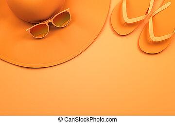 オレンジ, 夏, 項目