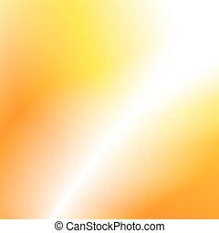 オレンジ, 強い, 背景