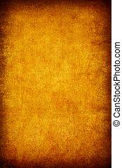 オレンジ, 抽象的, グランジ, 背景, textured