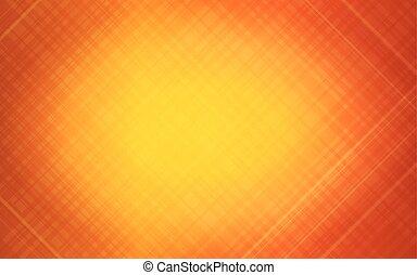 オレンジ, 抽象的, ストライプ, 背景