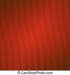 オレンジ, 抽象的, ベクトル, 背景