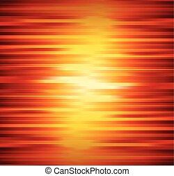 オレンジ, 抽象的, ライン, 背景