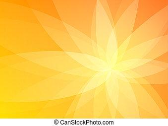 オレンジ, 抽象的, 壁紙, 背景