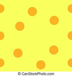 オレンジ, 点, backgrou