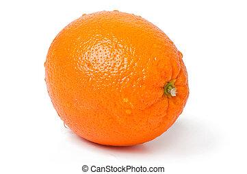 オレンジ, 白, 背景