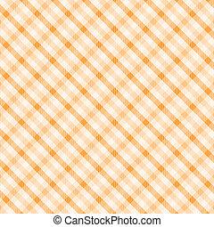 オレンジ, pattern2, plaid
