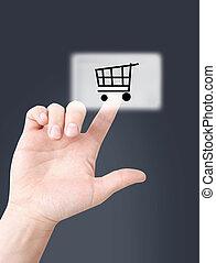 オンラインで買い物をする