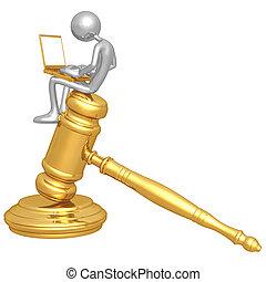 オンラインで, 法律