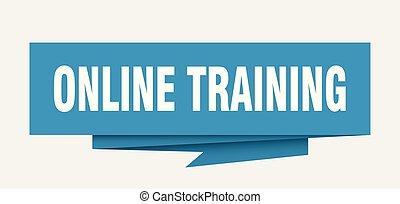 オンラインで, 訓練