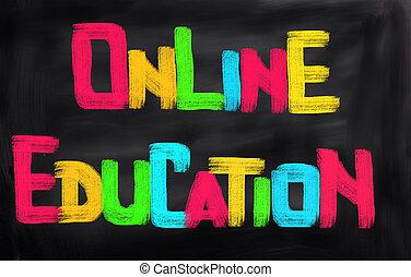 オンラインの教育, 概念
