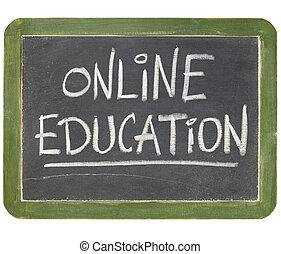 オンラインの教育, 黒板, 印