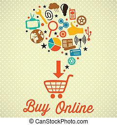 オンラインを買いなさい