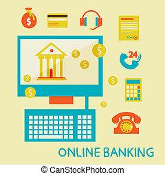 オンライン 銀行業