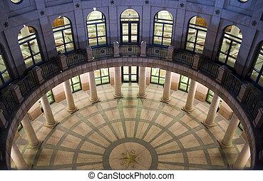 オースティン, 夜, 建物, テキサス, ダウンタウンに, 国会議事堂, 州