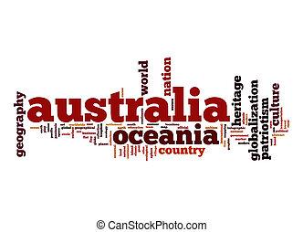 オーストラリア, 単語, 雲