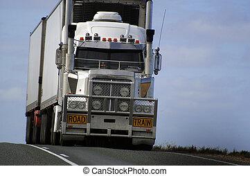 オーストラリア, 道, 輸送