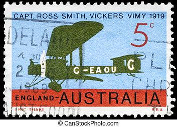 オーストラリア, 1969, vickers, -, 飛行機, vimy, ∥ころ∥