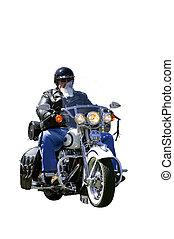 オートバイ乗り手, 隔離された