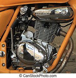 オートバイ, エンジン, 終わり