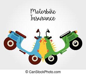 オートバイ, 保険